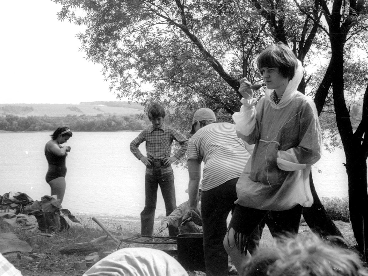 Таруса. Поход на слёт. 1979