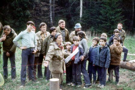 Дубешня. 20-летие Дубешни. Май. 1983