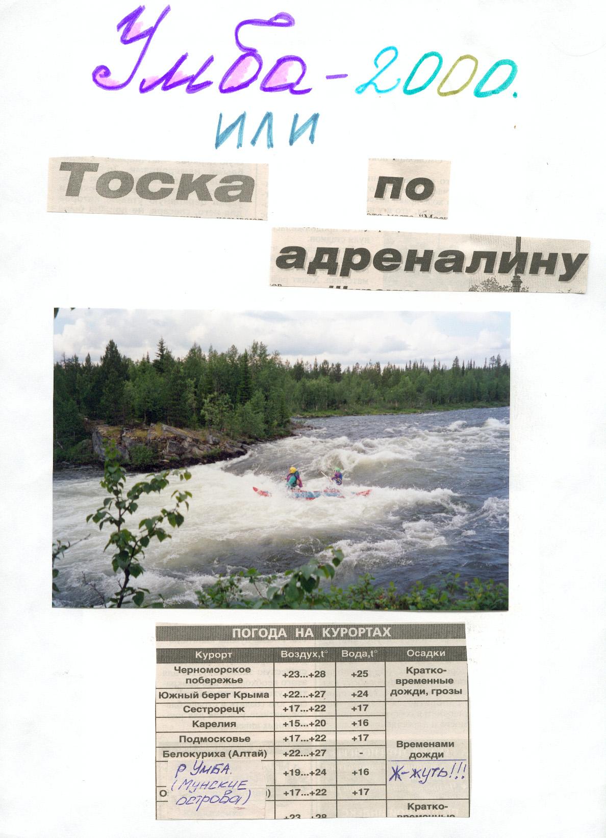Летопись 26-го года. 2000
